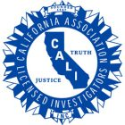 California Association of Licensed Investigators   Keck Investigation Service, LLC