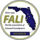 Florida Association of Licensed Investigators   Keck Investigation Service, LLC